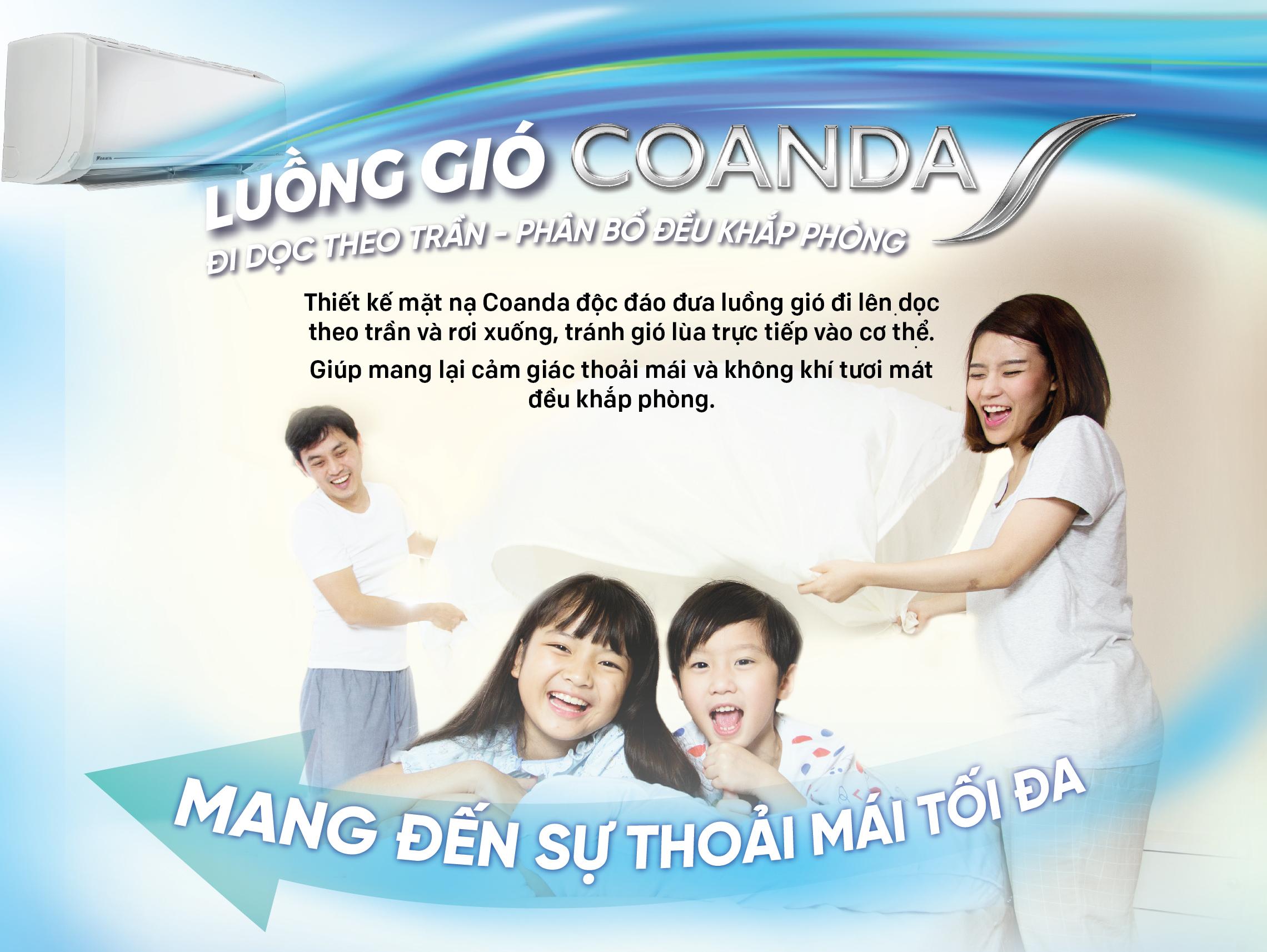 Luồng gió thoải mái Coanda